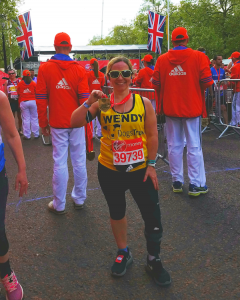 Wendy Garrett London Marathon