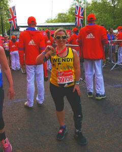 Wendy Garrett London Marathon