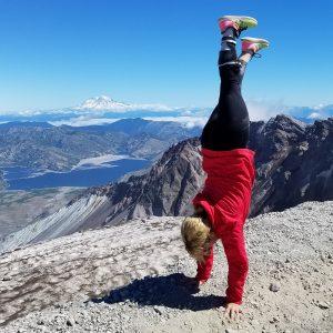 Wendy Garrett Mountain Climbing